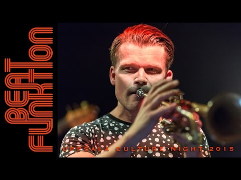 BEAT FUNKTION - RUNDFUNK / THE PLUNGE : Live At Uppsala Culture Night 2015