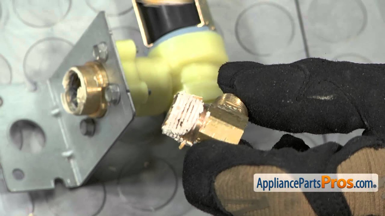 dishwasher water valve part w11082871 how to replace [ 1280 x 720 Pixel ]
