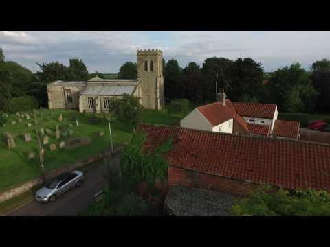 Drone footage of Church Laneham,Nottinghamshire