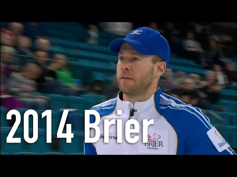 Cotter (BC) vs. Gushue (NL) - 2014 Tim Hortons Brier