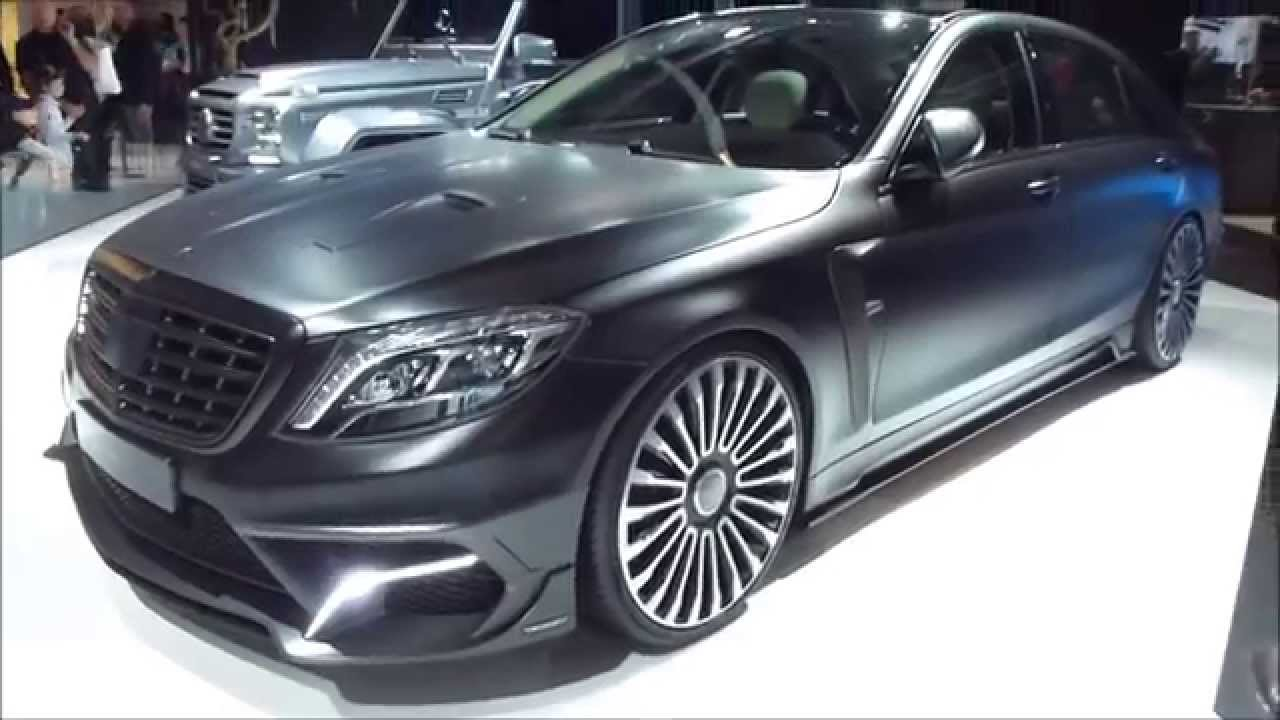 2015 iaa mansory black edition mercedes s 63 amg 1000 hp 300 km h 186 mph playlist youtube. Black Bedroom Furniture Sets. Home Design Ideas
