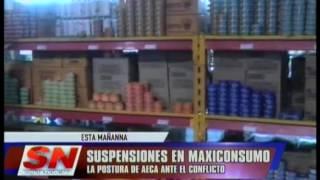 La Postura de AECA ante la suspensiones en Maxiconsumo.