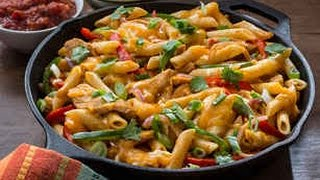 one pot chicken fajita pasta   tasty   german