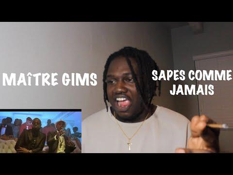 Maître Gims - Sapés comme jamais (Clip officiel) ft. Niska | FRENCH RAP REACTION
