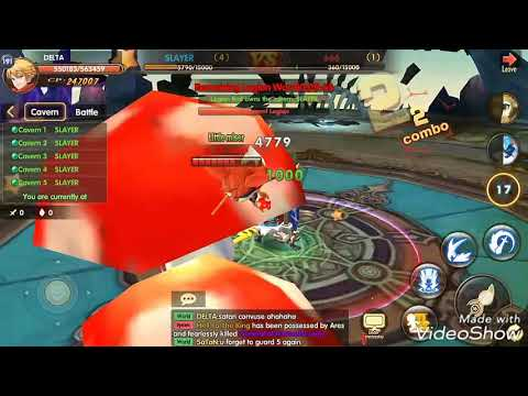 SATAN VS DELTA BLADE & WINGS SERVER 15