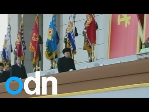 Kim Jong Un attends emotional rally to remember his late father Kim Jong Il