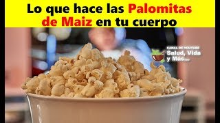 Lo que hacen las Palomitas de Maiz en tu cuerpo 🍿