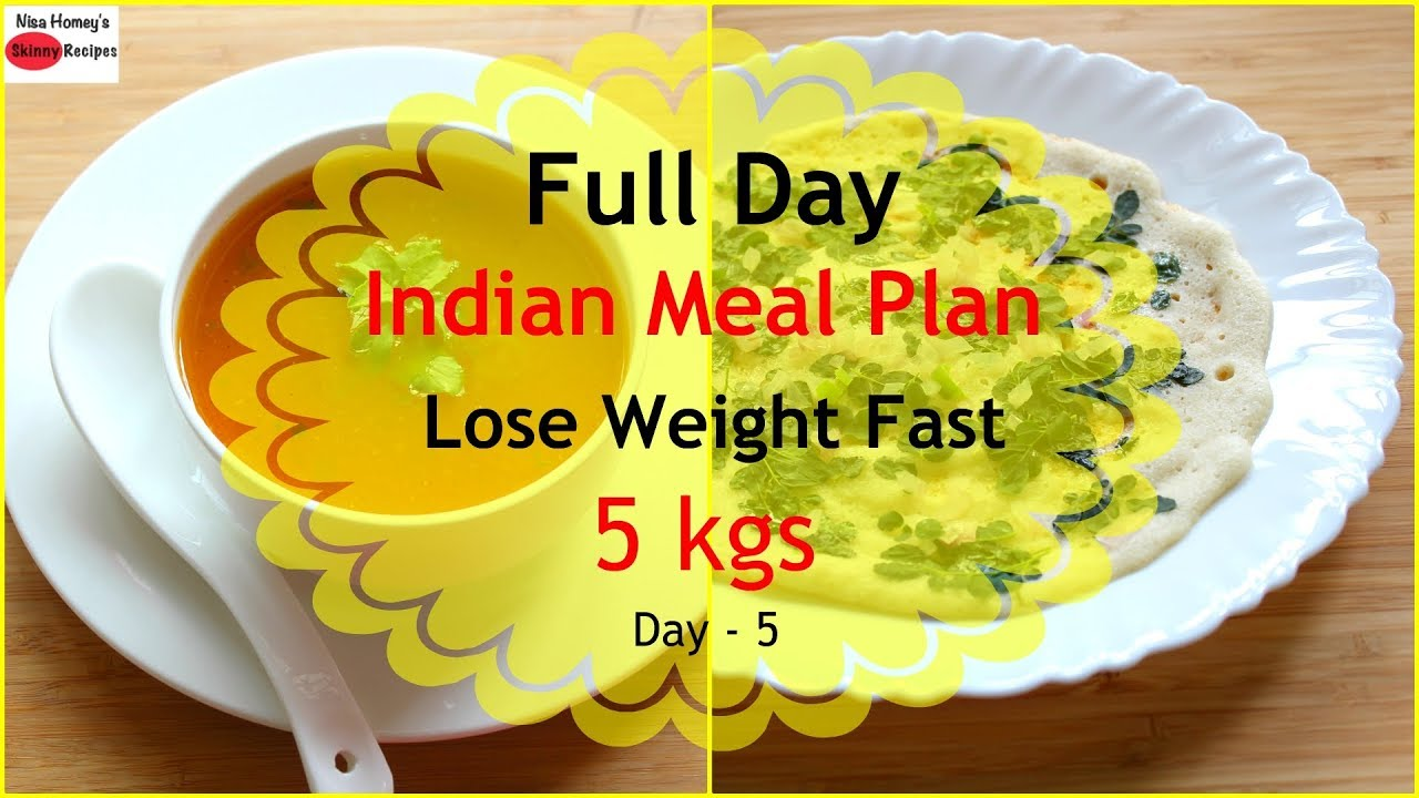 diet to lose weight fast indian