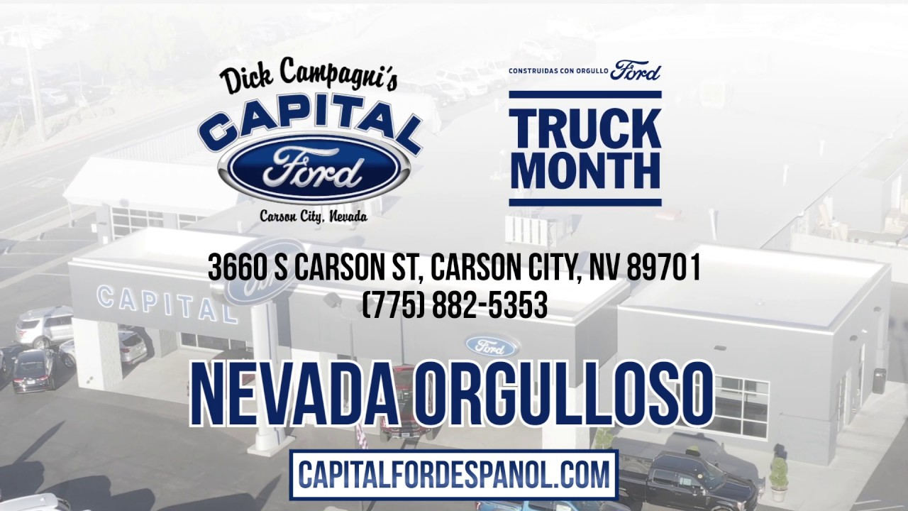 """Capital Ford Carson City >> """"Truck Month"""" a Capital Ford Carson City - YouTube"""
