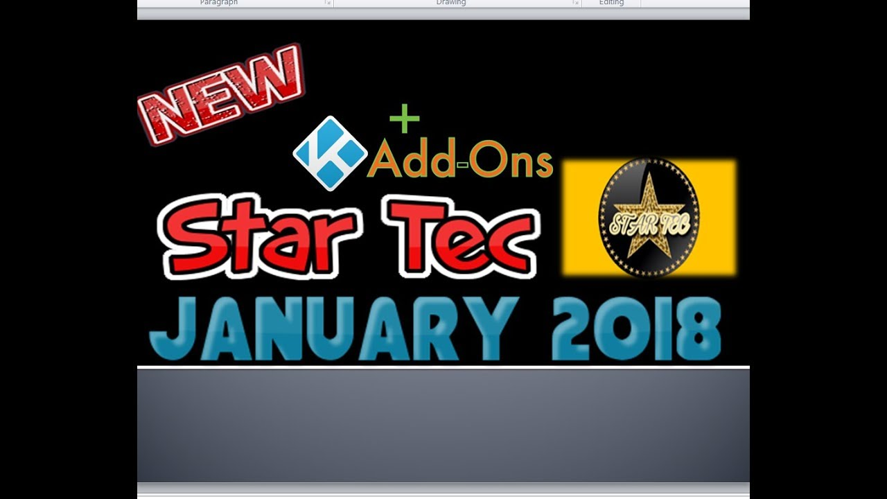 How to Install Star Tec Addon for 17 6 Kodi - Updated January 2018