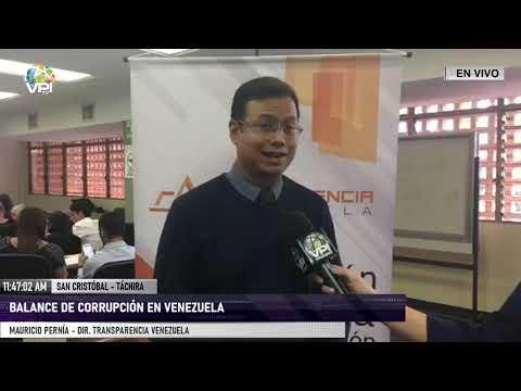 táchira---transparencia-venezuela-ofreció-balance-sobre-la-corrupción-en-el-país---vpitv
