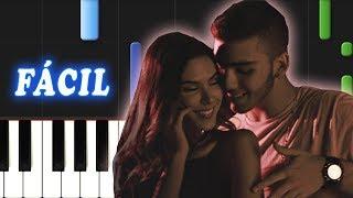 Una Lady Como Tu / Manuel Turizo / FACIL / Piano Tutorial
