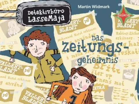 Das Zeitungsgeheimnis (Detektivbüro LasseMaja 7) YouTube Hörbuch Trailer auf Deutsch