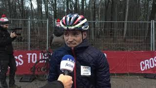 Sebastian Fini efter sin DM-sejr i Cross (2019)