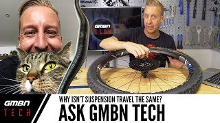 Ask GMBN Tech: Why Isn't My Mountain Bike Suspension Travel The Same?