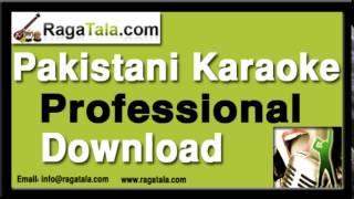 Aankhen ghazal hain aap ki - Pakistani Karaoke Track