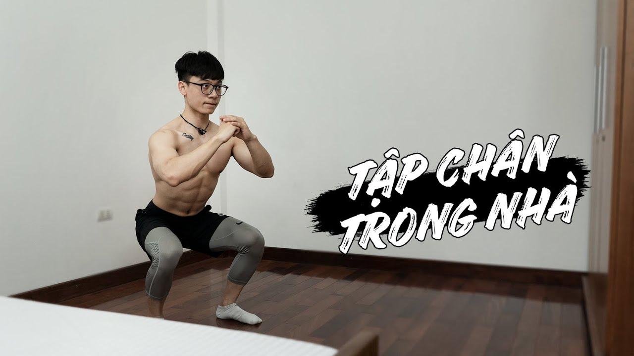 Tập CHÂN tại nhà cho Nam & Nữ    Home Leg Workout (follow along)   SHINPHAMM