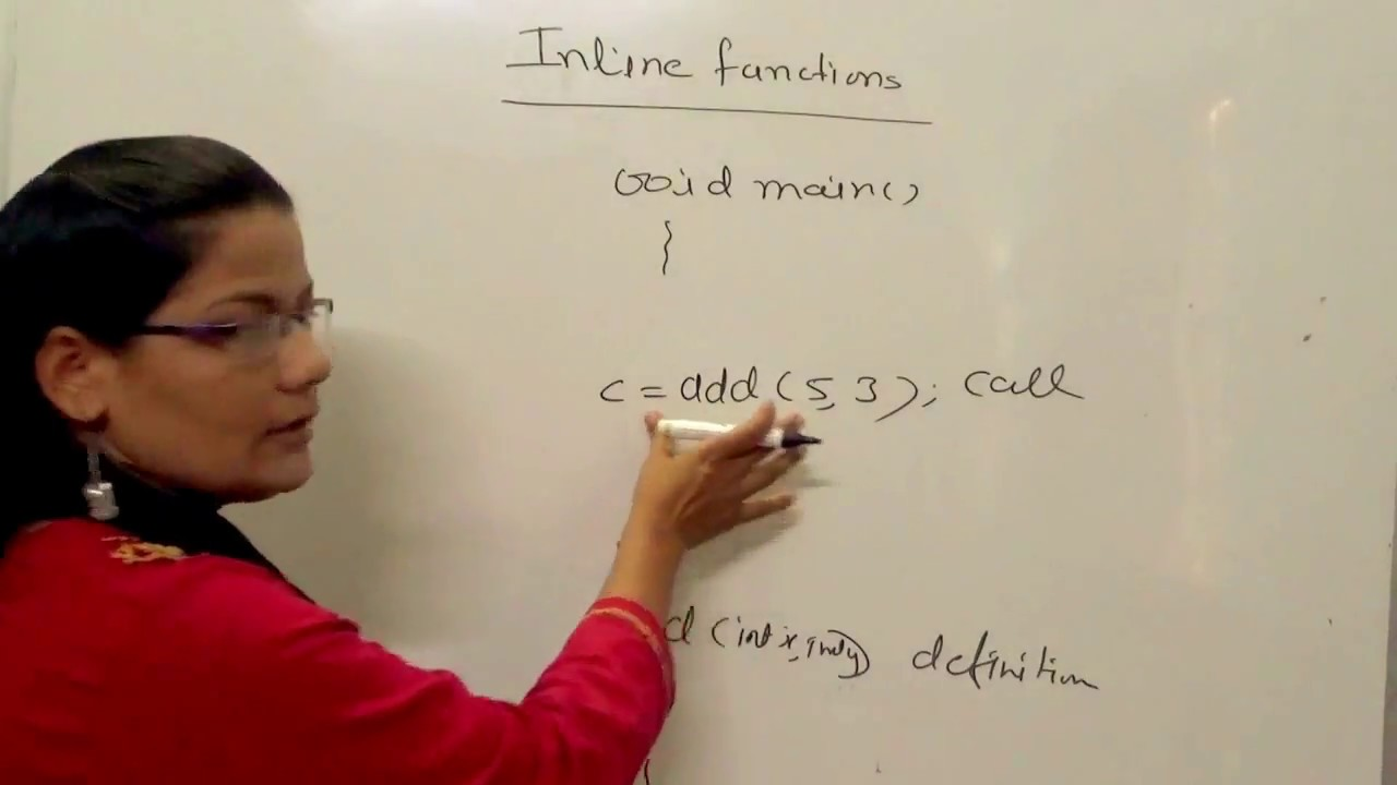 Inline Function in C++ in Hindi
