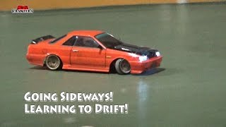 Night Drifting Sessions! Going sideways! Learning to Drift! – Sakura and Yokomo