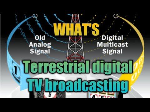 Terrestrial Digital TV Broadcasting. Digital Tv Technologies.latest Tv Signals. Tv Technologies