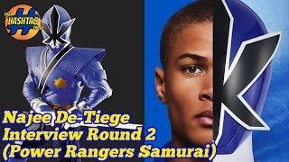 Najee De-Tiege Answers Fan Questions | Power Rangers Samurai | Morphin' Monday