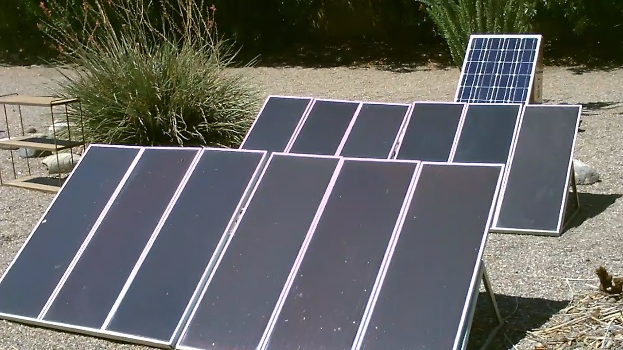 Solar Panel Quot Solar Farm Quot Backyard Quot Mini Farm Quot 18a