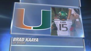 Brad Kaaya Breakout Performance | Best of Miami QB vs Cincinnati