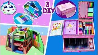 3 BEST ORGANIZERS from a cardboard box/DIY from cardboard