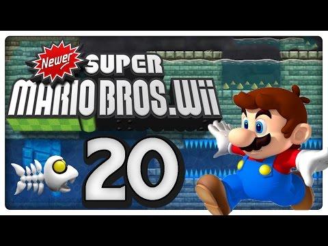 Let's Play NEWER SUPER MARIO BROS. Wii Part 20: Kleiner Mario mit großer Leistung