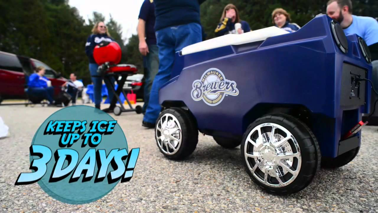 Meet Rover The Remote Controlled Cooler YouTube - How to make car cooler