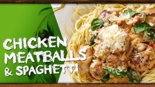 How To Cook Chicken Meatballs & Spaghetti With Kim Mccosker