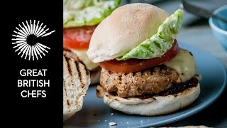 Marcus Wareing's Turkey Burger