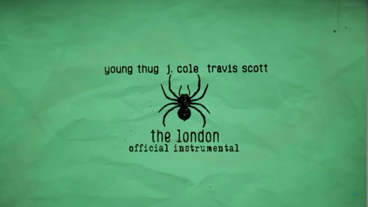 Young Thug - The London (feat. J. Cole & Travis Scott) [OFFICIAL INSTRUMENTAL] image