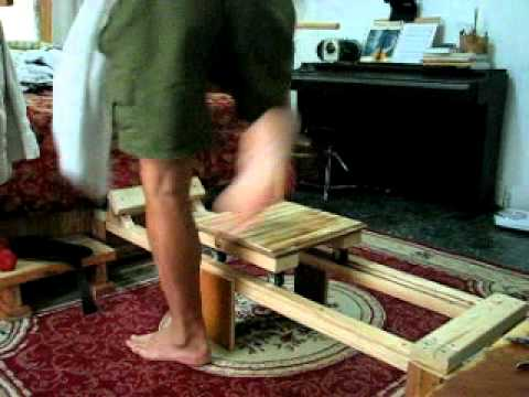 HOMEMADE ROWING MACHINE AFFORDABLE