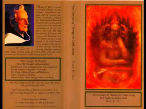Manly P Hall - Mental Control of the Energy Fields of the Body
