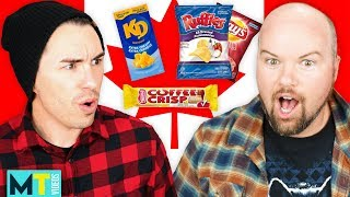 Americans Try Canadian Snacks For The First Time