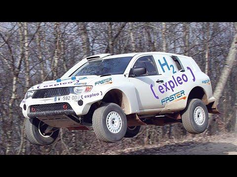 Expleo & Faster: Hydrogen-powered 4x4 for Dakar