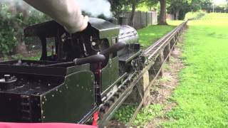 Adam Hodson driving Arthur Eve at Abbotsfield Park with UDMES on Sunday 12th July 2015