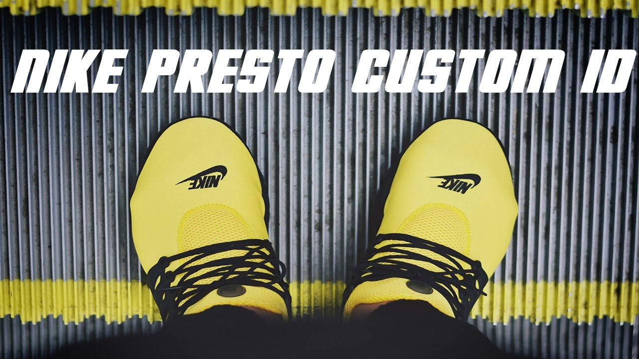 Nike Presto Custom ID | Hypebeast | Cinematic | On foot