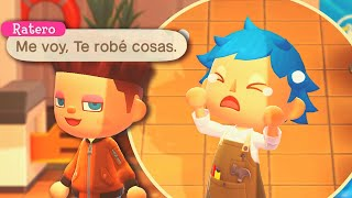 UN EXTRAÑO ENTRA A MI ISLA Y ME ROBA 😡 ANIMAL CROSSING NEW HORIZONS