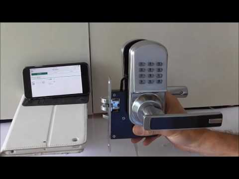 Zwave Keyless Entry Systems Digital Door Lock Youtube