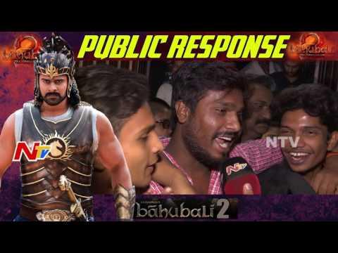 Baahubali 2 Public Talk | Public Response | Prabhas, Anushka | Public Review | The Conclusion || NTV