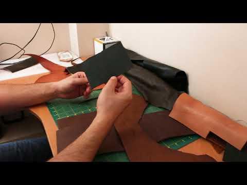Какие виды кожи я использую для пошива сумок и кошельков. Какой толщины кожу лучше покупать.