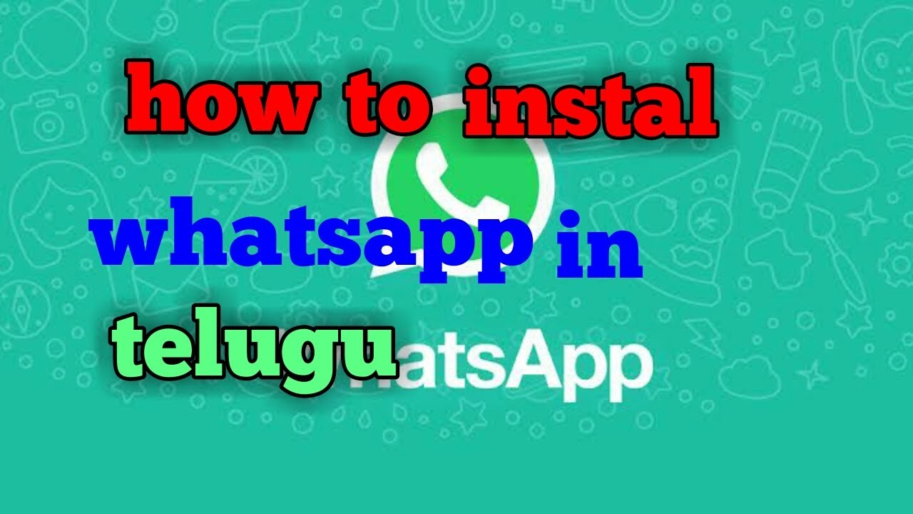 How to install whats app in apsfl for apfibre full details of what app srinivas hacks in telugu MP4