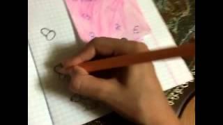 Видеоуроки/смэшбук/разворот барби