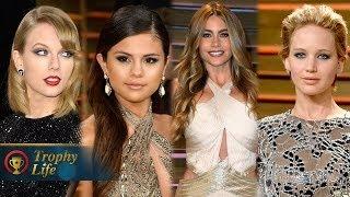 Selena Gomez VS Taylor Swift - Vanity Fair Oscars Party Best Dressed