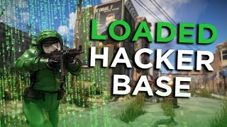 JACKPOT HACKER BASE LEADS TO ONLINE RAID - Rust