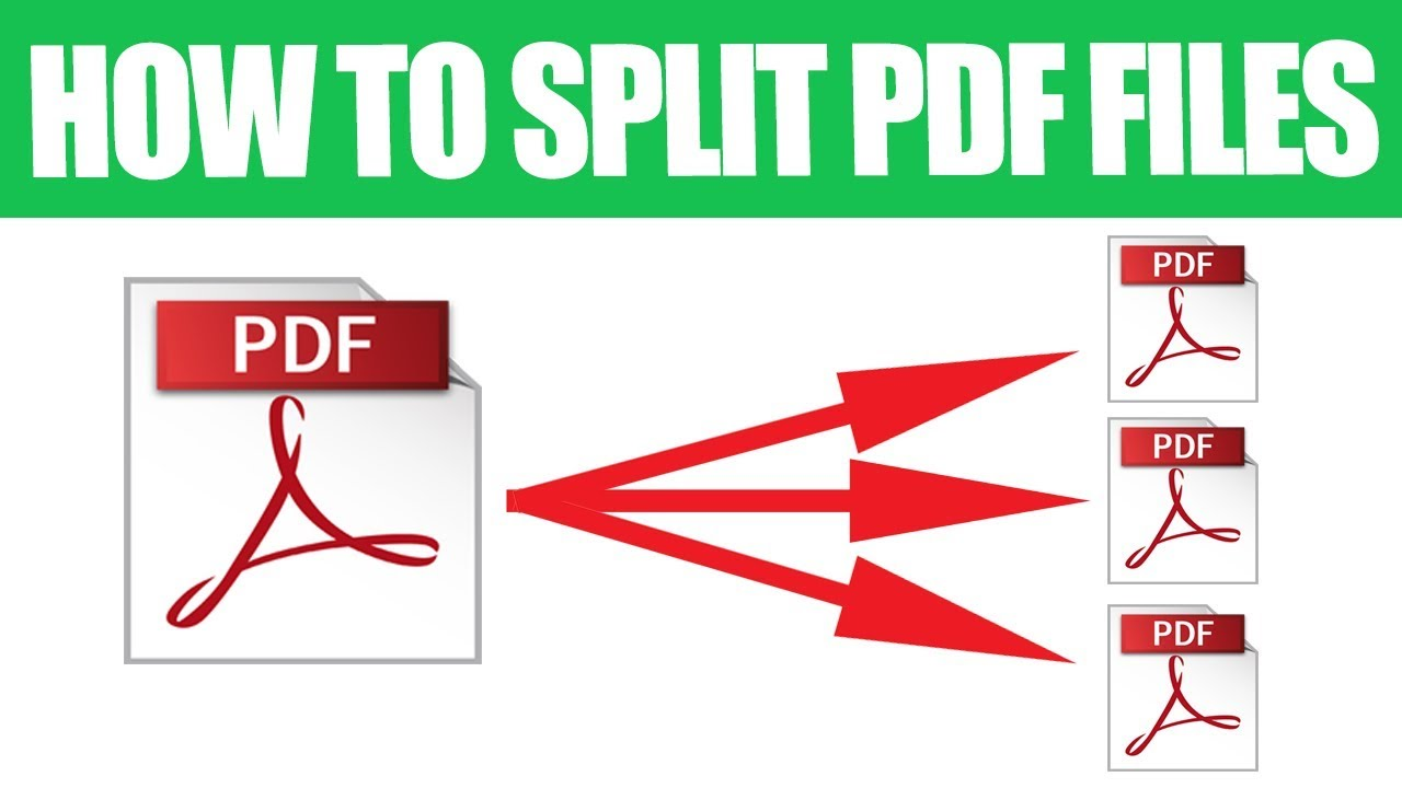 HOW TO MERGE AND SPLIT PDF FILES …
