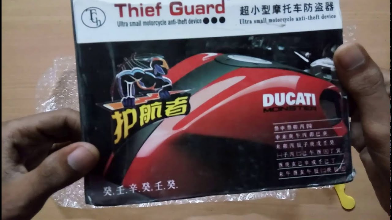 maxresdefault unboxing hru anti theft security alarm with remote system (for all xenos bike security system wiring diagram at reclaimingppi.co