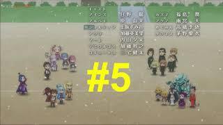 ISEKAI QUARTET EP 4 REACCIÓN OVERLORD VS RE ZERO VS KONOSUBA